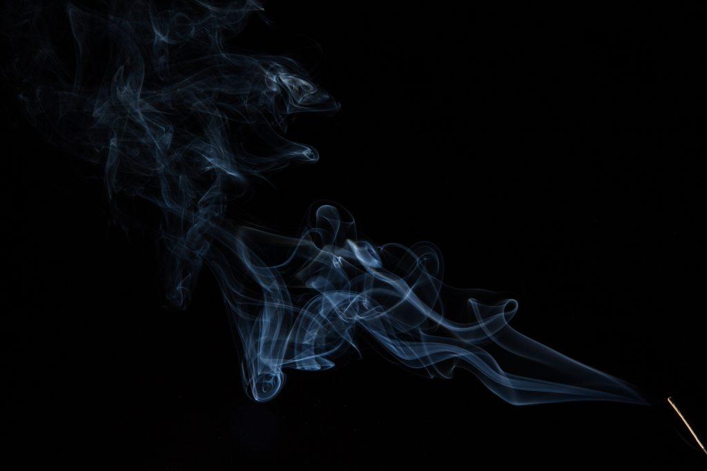 burning insence