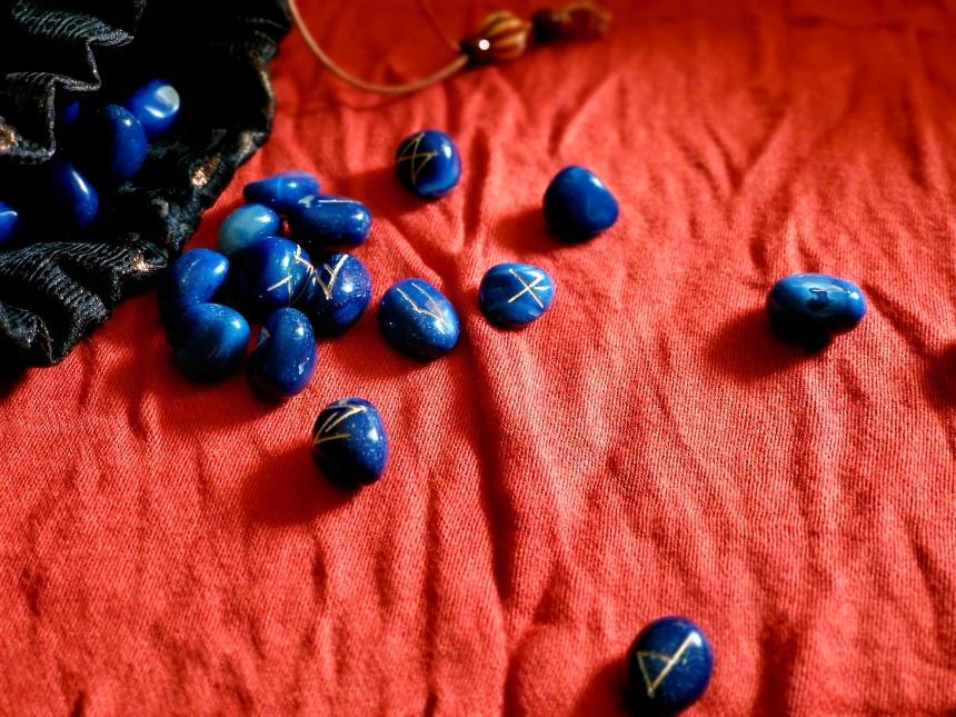 Blue Rune Stones